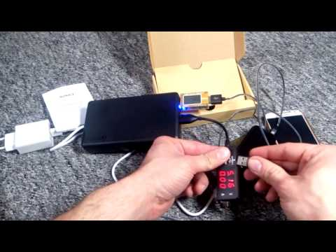 ECHTE 30000mAh Powerbank Aukey , USB C Eingang/Ausgang Quick Charge 3.0 AiPower