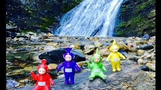 Video TELETUBBIES TOYS Explore Cave and Waterfall! download MP3, 3GP, MP4, WEBM, AVI, FLV November 2018
