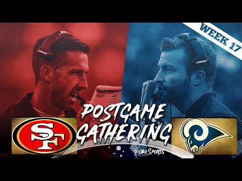 San Francisco 49ers VS Los Angeles Rams Week 17 NFL 2017 Postgame Gathering