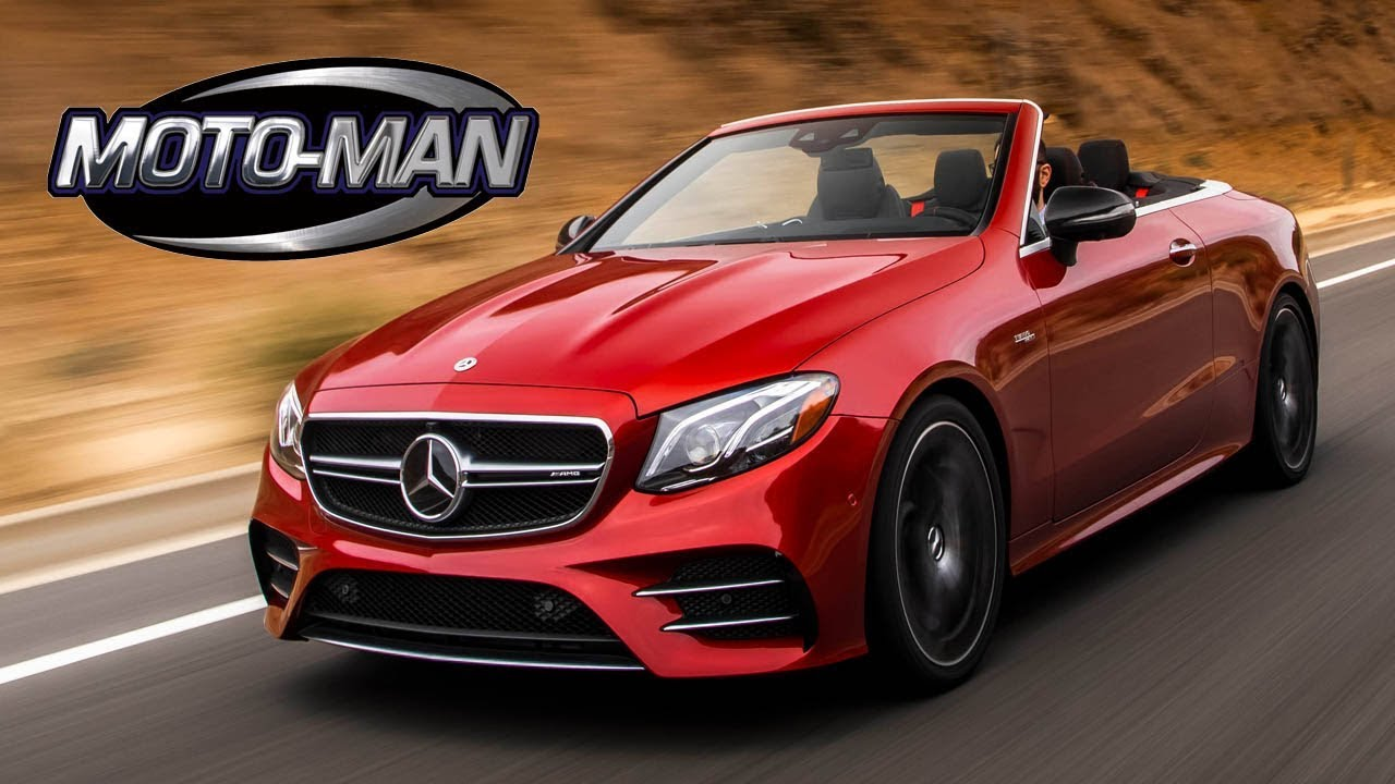 A Mercedes Amg Hybrid Convertible 2019 E53 First Drive Review