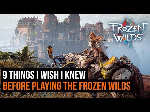 9 Things I Wish I Knew Before Playing Horizon Zero Dawn: The Frozen Wilds