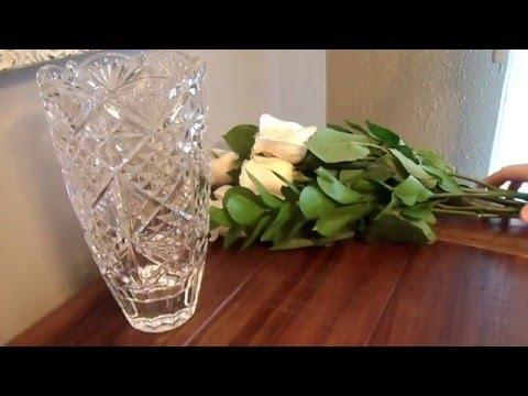 tips tricks keeping flowers alive longer youtube. Black Bedroom Furniture Sets. Home Design Ideas