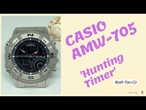 Casio AMW 705 'Hunting Timer' Review