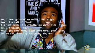 Watch Childish Gambino Rosenberg Freestyle video