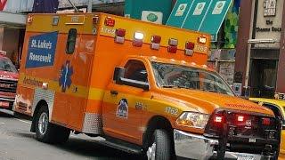 AMBULANCES RESPONDING New York ambulance sirens sound effect 2015 HD ©