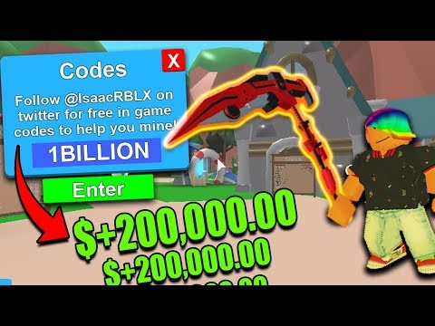 (10+) *LEGENDARY* CODES  In ROBLOX MINING SIMULATOR |Free Crates,mythicals,tokens,dominus,rebirth