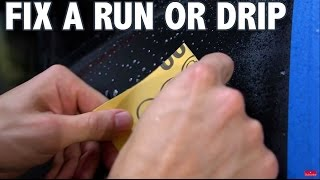 How to Fix a Drip or Run in Plasti Dip - Tutorial