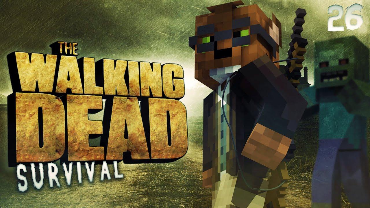карта майнкрафт the walking dead #11