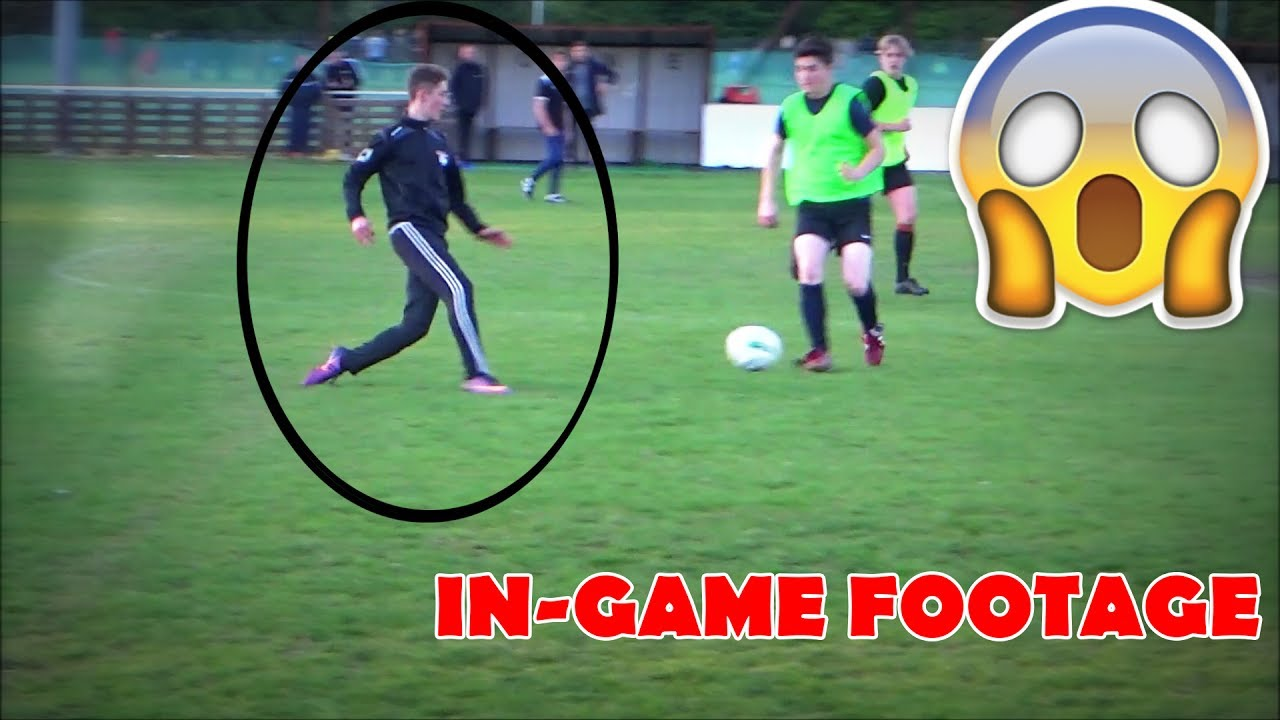 IRL FOOTBALL FOOTAGE (Can I Play In-game??)