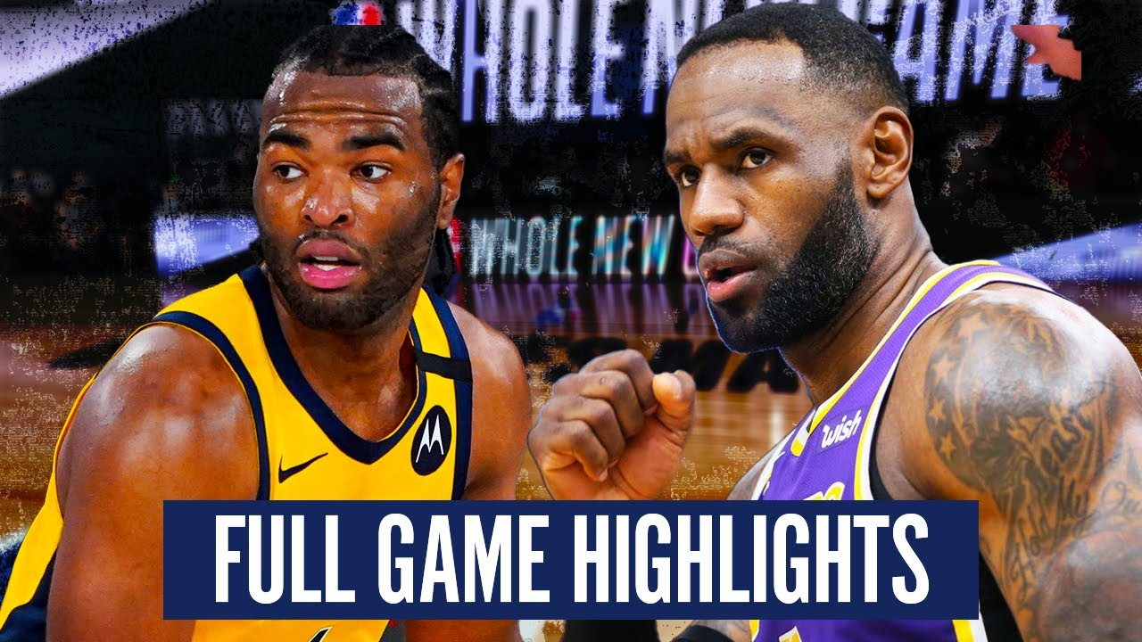 Download LA LAKERS at INDIANA PACERS - FULL GAME HIGHLIGHTS | 2019 - 20 NBA Season