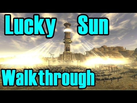 Fallout New Vegas: That Lucky Old Sun Walkthrough (Commentary)