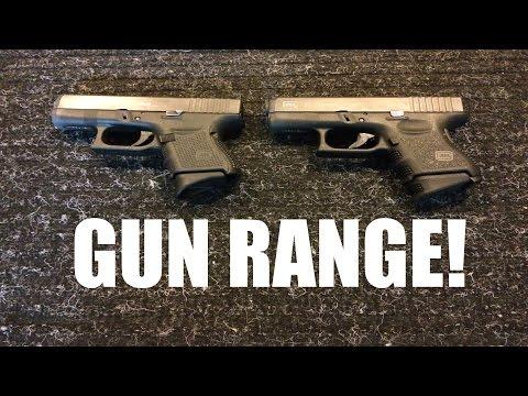 Gun Range Fun - Glock 26 & Glock 27