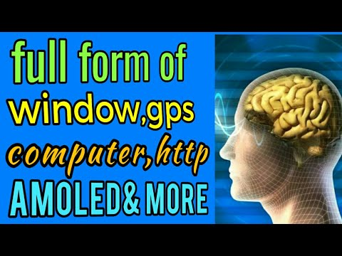 greatest full form of window,google, computer,gps,led,http and most