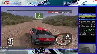 Colin McRae Rally 2005 - Championship% in [1:11:47] NEW WR!!!