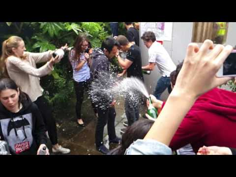 Champagne Showers -- Oxford UK 2014