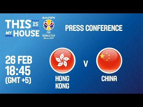 Hong Kong v China - Press Conference - FIBA Basketball World Cup 2019 - Asian Qualifiers