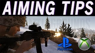 TIPS that will IMPROVE your AIM with a CONTROLLER! / PUBG PS4 u0026 XBOX AIMING TIPS
