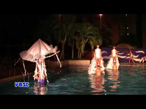 VBSC. Aquatic ballet by groups from Matanzas City - Cuba