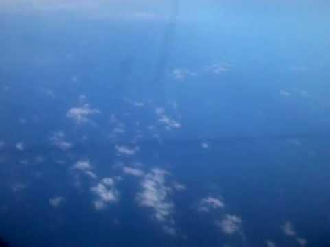 strange dark line in the ocean seen from plane