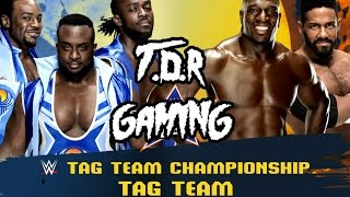 WWE 2K16 (XB1 Gameplay) - New Day vs Prime Time Players (Tag Team Title Match) LEGEND DIFFICULTY