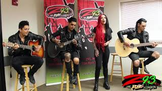New Years Day Performs 'Skeletons' at the Z93 Studios