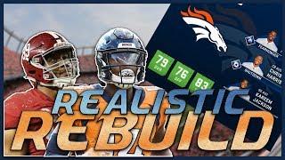 Is Drew Lock the Future? | Madden 20 Denver Broncos Realistic Rebuild