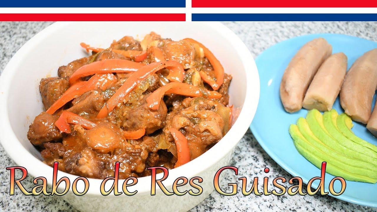 Download Como Cocinar Rabo de Res (Vaca) Receta Dominicana - Cocinando con Yolanda