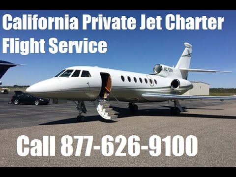 Private Jet Charter Flight Service Los Angeles, San Diego, San Francisco, San Jose, Fresno, CA