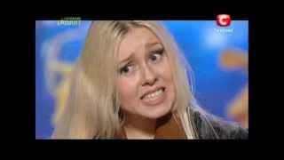Украина мае талант 5 - Юлия Пидтесена