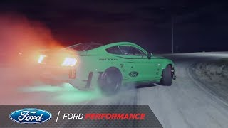 900 HP Mustang Cloverleaf Drift Unedited Single Take | Ford Performance