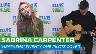 "Sabrina Carpenter - ""Heathens"" Acoustic Cover 