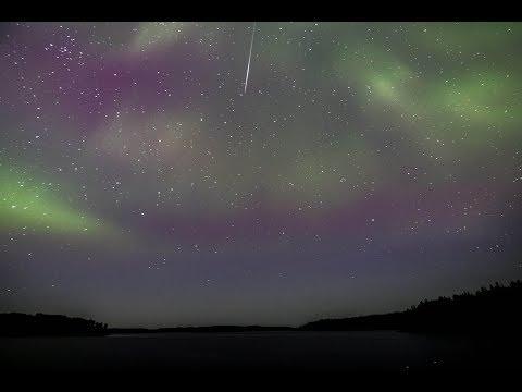 Wine Lake Ontario 2017 - 4K, Time-lapse, Drone, Northern Lights