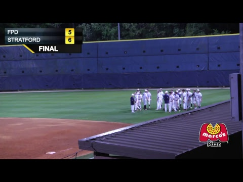 FPD Vikings Vs. Stratford Academy Eagles Baseball - LIVE - 4/13/2017