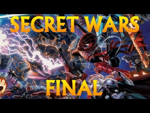 MARVEL SECRET WARS - la guerra secreta - FINAL - vengadores - alejozaaap - CIVIL WAR