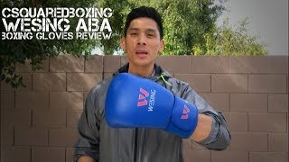 12 Ounce Wesing AIBA Boxing Gloves Review
