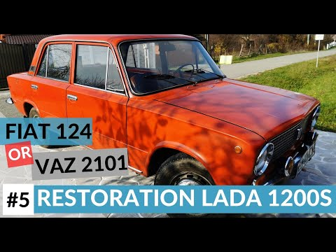 RESTORATION LADA 1200 S,VAZ 2101