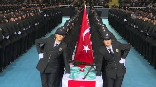 Mustafa Büyükpoyraz Polis Meslek Eğitim Merkezi POMEM Mezuniyet Töreni
