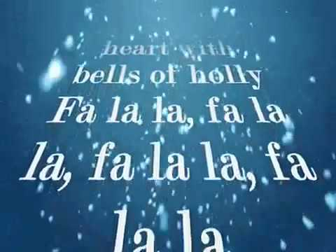 Justin Bieber - Fa la la (lyrics)