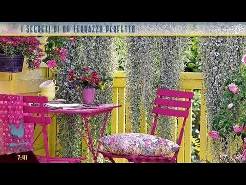 i segreti di un terrazzo perfetto youtube On arredare terrazzo piante