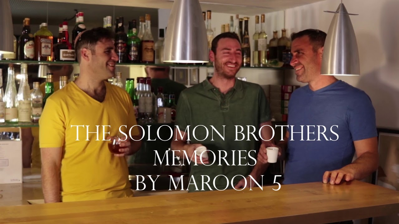 The Solomon Brothers Memories (Cover by Maroon 5)