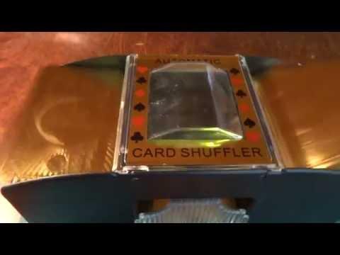 Шаффл машинка для тасовки карт из магазина Banggood