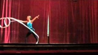 Primavara artistica 2011- Diana Tataru - gimnastica ritmica  cu panglica