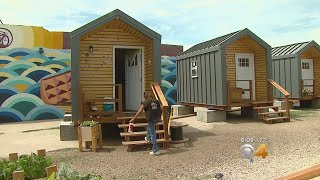 Tiny Homes Help With Growing Homeless Population