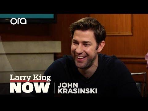 John Krasinski on Clooney, crying, and Emily Blunt