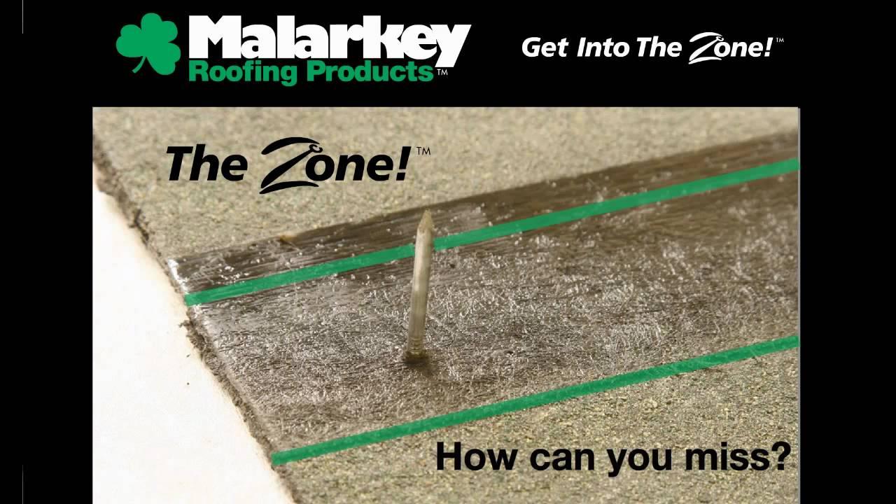 Malarkey Roofing: The Zone   YouTube