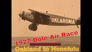 "WOOLAROC AIR RACE WINNER TO HAWAII 1927 SILVER HALIDE PHOTO ON 8X10/"" MATT"