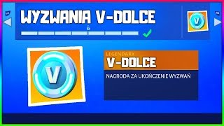 HOW to GET V DOLCE for FREE!? NEW CHALLENGES WITH V DOLCAMI IN FORTNITE!
