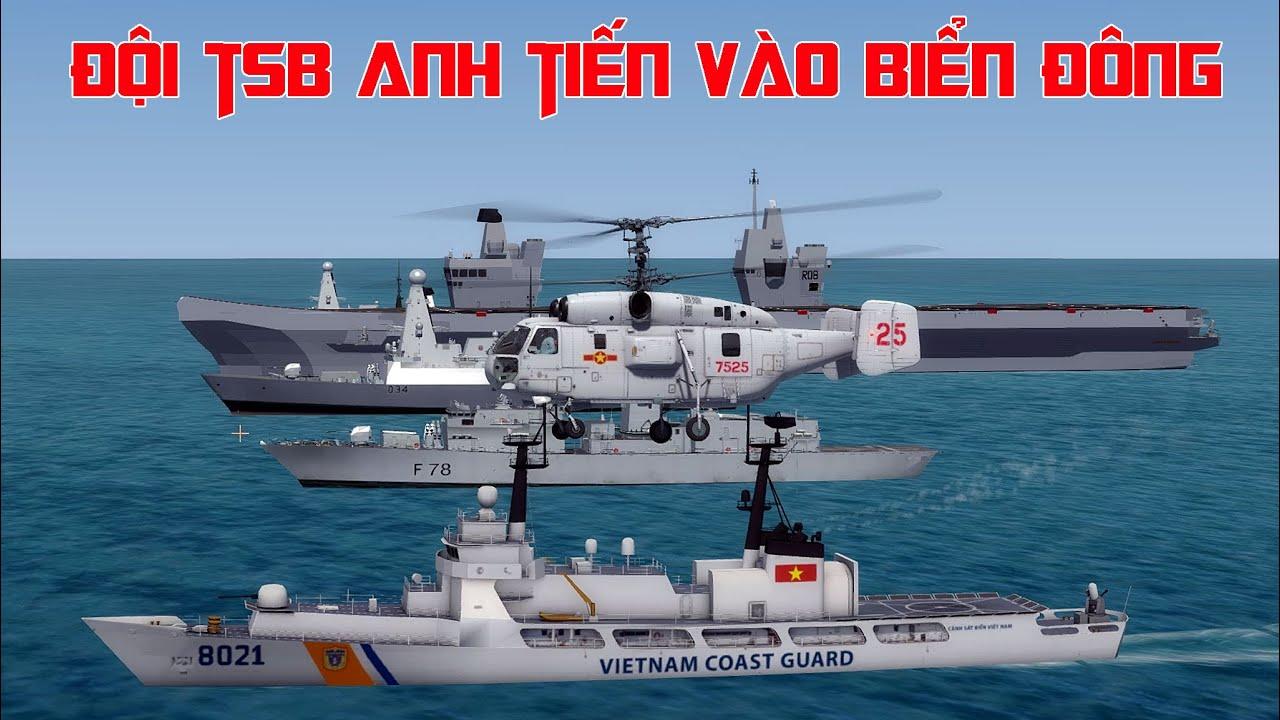 Đội Tàu sân bay Anh đang tiến vào Biển Đông gồm những tàu nào - Năng lực chiến đấu ra sao?