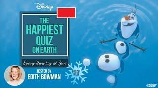 The Happiest Quiz on Earth   Quiz 05: Disney Frozen (09/07/2020)   Official Disney UK