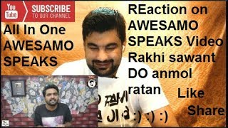 Rakhi Sawant Donating Her Do Anmol Ratan | AWESAMO SPEAKS | Reaction | By (All In One)